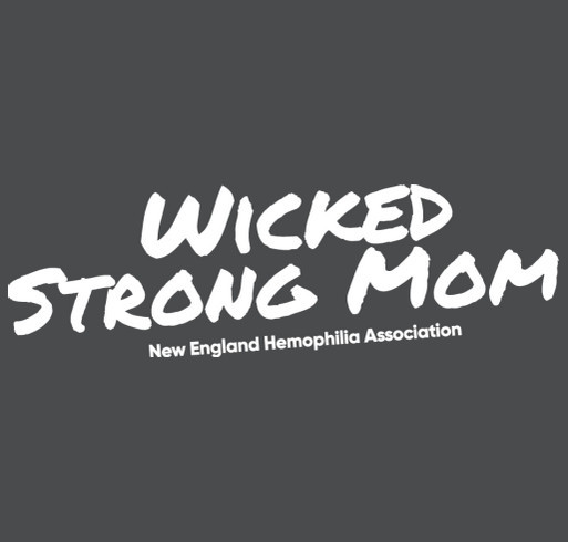 Wicked Strong Mom Sweatshirt shirt design - zoomed