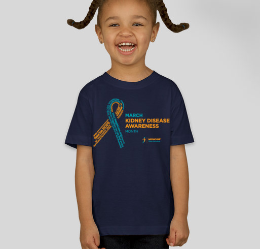 NephCure Kidney International- World Kidney Day Fundraiser! Fundraiser - unisex shirt design - front