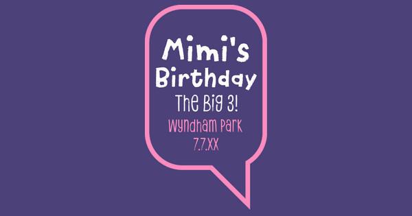mimi's birthday