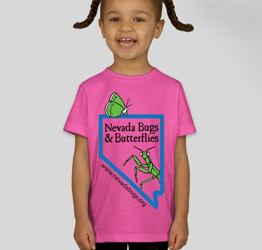 Nevada Bugs & Butterflies 2014 Fundraiser (Kid's Shirts) Fundraiser - unisex shirt design - front