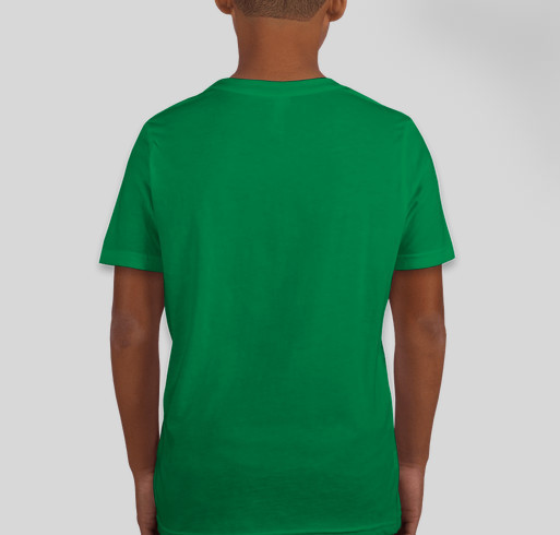 Royal Oak Clover T-Shirt Fundraiser - unisex shirt design - back