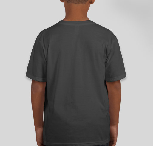 Together or Apart, Always a Penguin at Heart Fundraiser - unisex shirt design - back