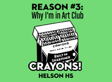 Art Club Reason