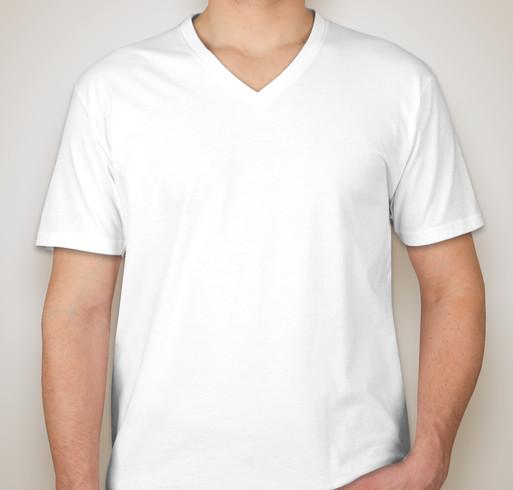Next Level 60/40 V-Neck T-shirt - White