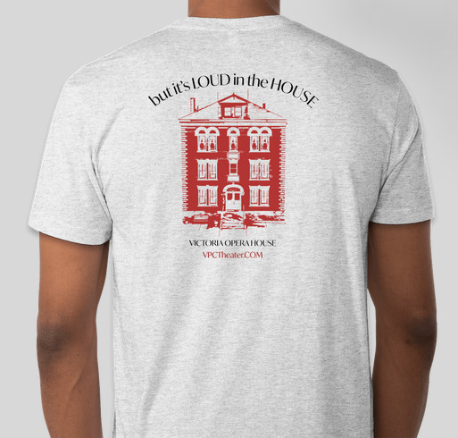 Victoria Players Children's Theater Back to the Stage Fundraiser Fundraiser - unisex shirt design - back