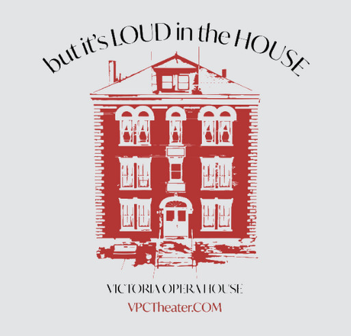 Victoria Players Children's Theater Back to the Stage Fundraiser shirt design - zoomed