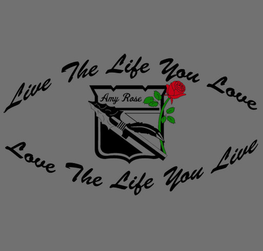 Help Support the Amy Rose Grabina Memorial Scholarship Endowment shirt design - zoomed