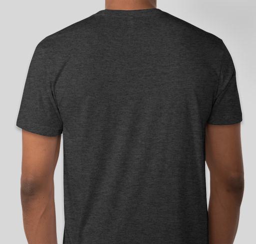 NoSleep shirts! Fundraiser - unisex shirt design - back