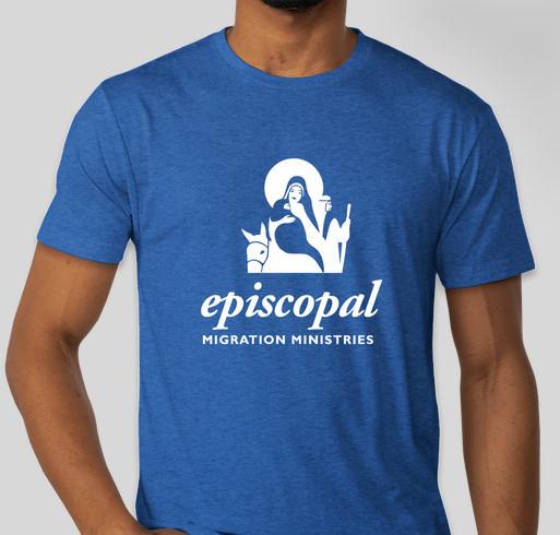 #WeAreEMM - Episcopal Migration Ministries Apparel Fundraiser Fundraiser - unisex shirt design - front