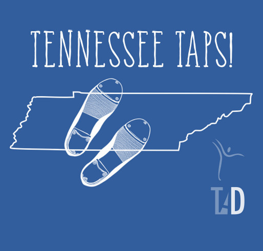 Tennessee Taps T-shirts! shirt design - zoomed
