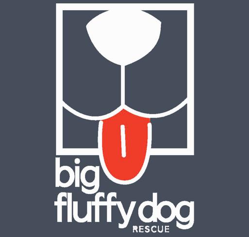 Big Fluffy Dog Rescue T-Shirts shirt design - zoomed
