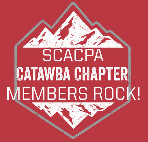 SCACPA Catawba Chapter - Rock Hill Food Pantry shirt design - zoomed