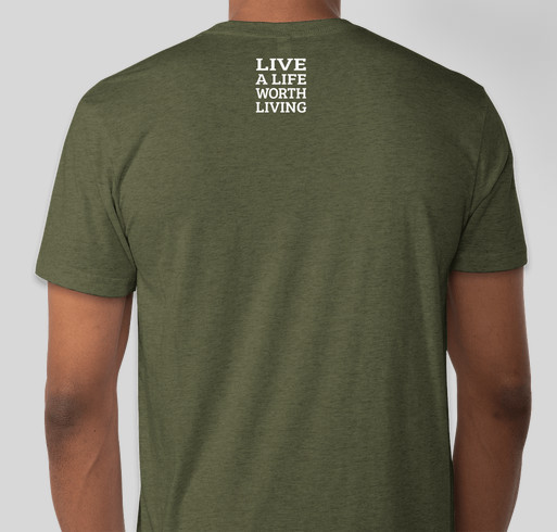 Help Military Families Thrive Fundraiser - unisex shirt design - back