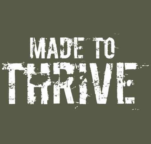 Help Military Families Thrive shirt design - zoomed