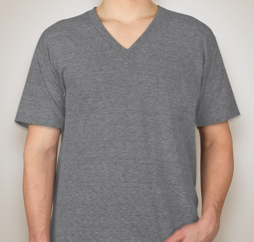 American Apparel Tri-Blend V-Neck T-shirt - Athletic Grey