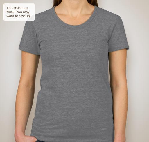 American Apparel Juniors Tri-Blend T-shirt - Athletic Grey
