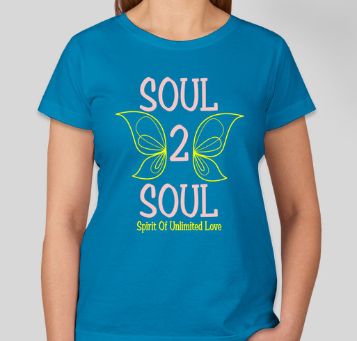 SOUL SISTAHS  Women Supporting Women Fundraiser - unisex shirt design - front