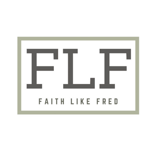 Faith Like Fred shirt design - zoomed