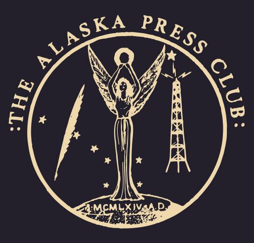 Alaska Press Club 2021 shirt design - zoomed