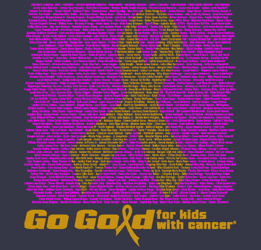 2015 ACCO Go Gold Shirt 2 shirt design - zoomed
