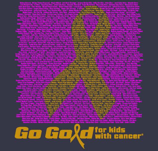 2015 ACCO Go Gold Shirt 3 shirt design - zoomed