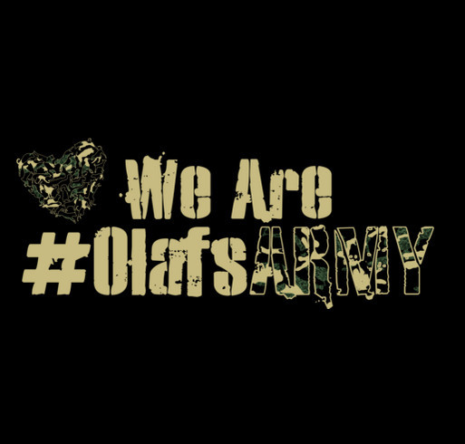 We Are Olaf's Army shirt design - zoomed