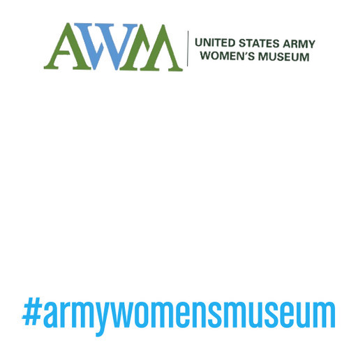 Army Women's Museum shirt design - zoomed