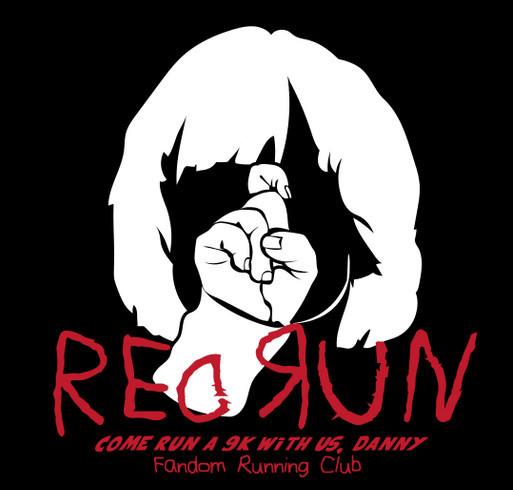 FRC RedRun 9k shirt design - zoomed