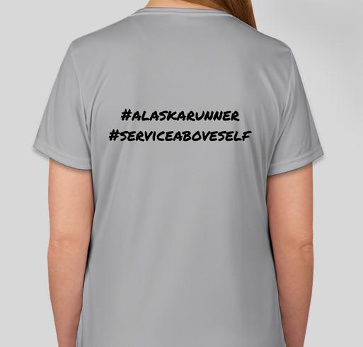 2020 Annual Chena River (Virtual) Run - Rotary Club of Fairbanks, Alaska Fundraiser - unisex shirt design - back