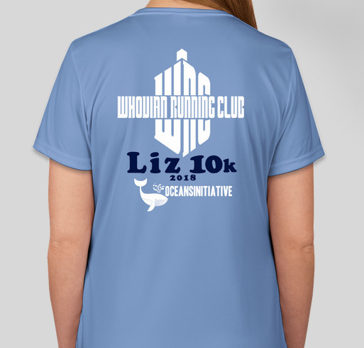 Liz 10K Fundraiser - unisex shirt design - back