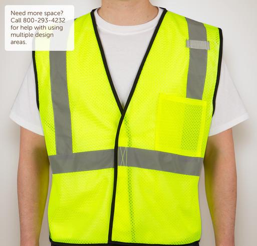 Kishigo Class 2 Mesh Safety Vest - Selected Color
