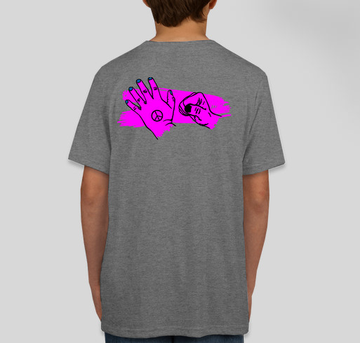Be Good To Each Other - Hayden Byerly & Gavin MacIntosh Fundraiser - unisex shirt design - back