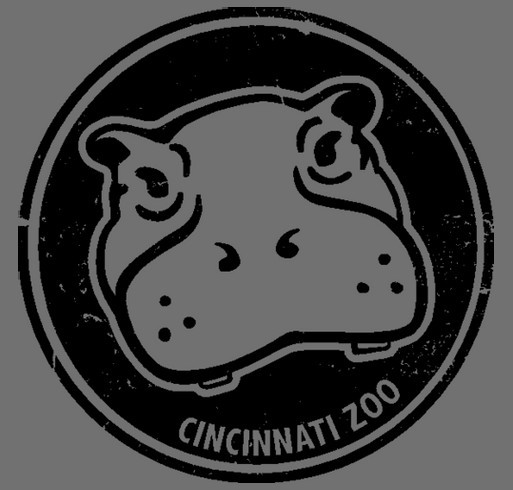 Cincinnati Zoo Fundraiser shirt design - zoomed
