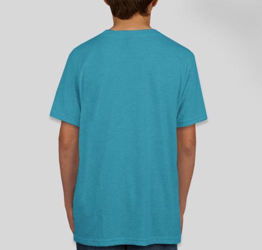 Lu-Jo Kismif Fundraiser - unisex shirt design - back