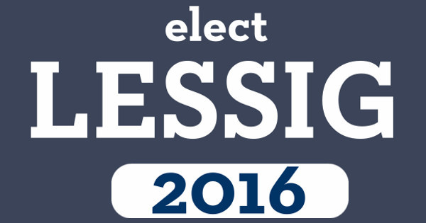 Elect Lessig
