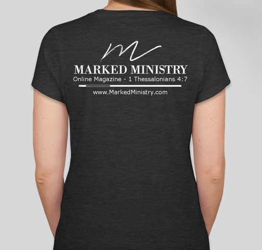 Marked Ministry Goes Non-Profit Fundraiser Fundraiser - unisex shirt design - back