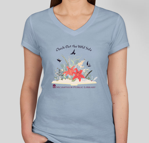 McArthur Library's Summer Learning Program T-Shirts Fundraiser - unisex shirt design - front