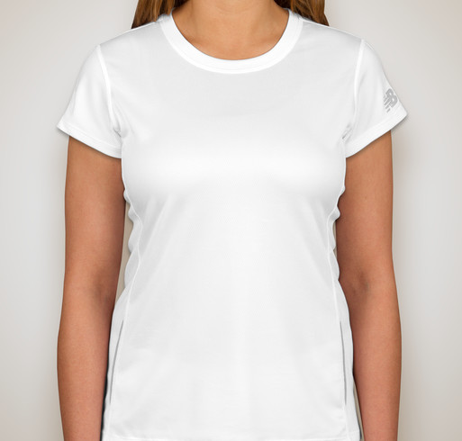 New Balance Ladies Tempo Performance Shirt - White