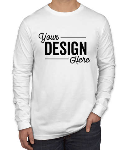 Canada - Bella + Canvas Long Sleeve Jersey T-shirt - White