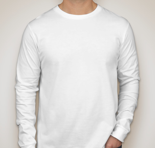 Canada - Canvas Long Sleeve Jersey T-shirt - White
