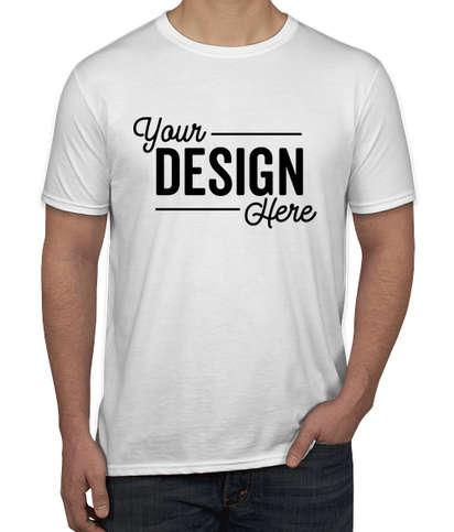 Canada - Gildan Softstyle Jersey T-shirt - White