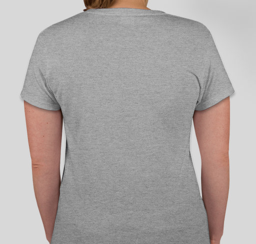 Go Gray in May 2014 Fundraiser - unisex shirt design - back
