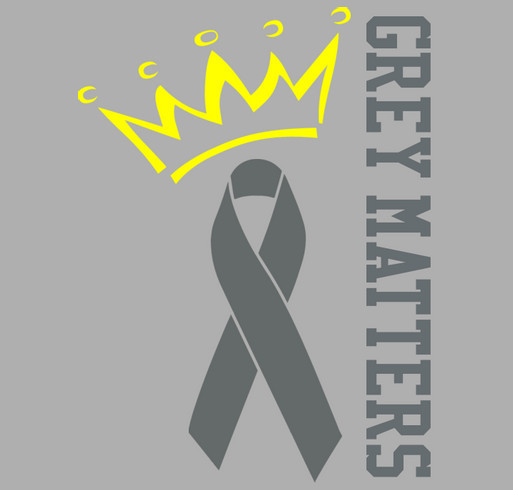 Go Gray in May 2014 shirt design - zoomed