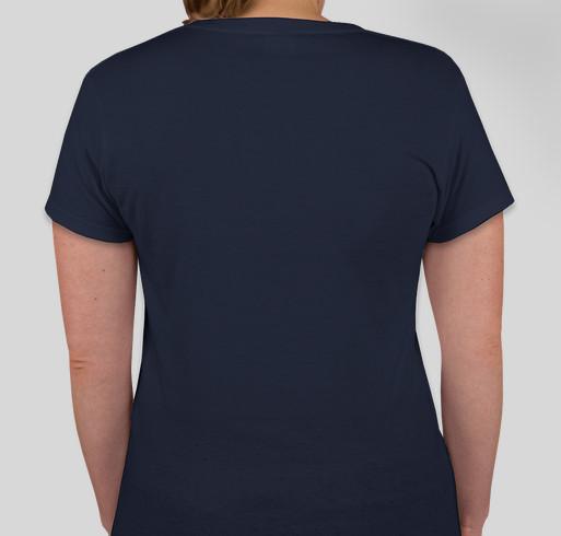 Our Spirit is Waterproof: Support Typhoon Haiyan Relief Fundraiser - unisex shirt design - back