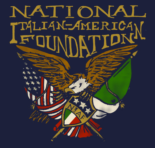 National Italian American Foundation Spring 2015 Merchandise Sale shirt design - zoomed