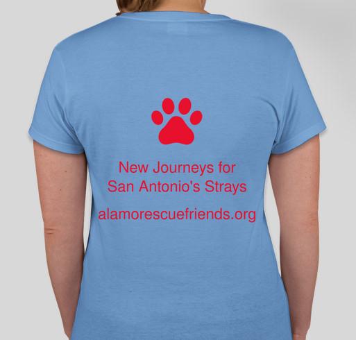 Alamo rescue friends tshirts and hoodies to help save san for Custom shirts san antonio