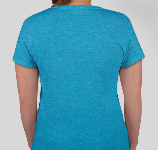 Autism Awareness T-Shirt Fundraiser - unisex shirt design - back