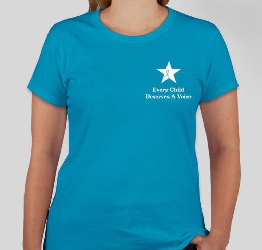 Paige's Speech Therapy Fund (& Raise Awareness for Apraxia!) Fundraiser - unisex shirt design - front