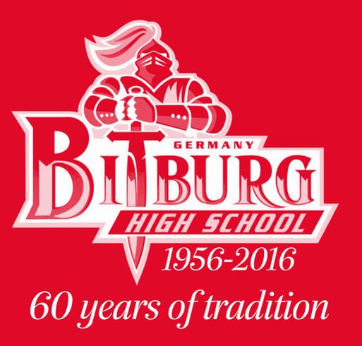 Bitburg Homecoming 2016 Commemorative Shirt shirt design - zoomed