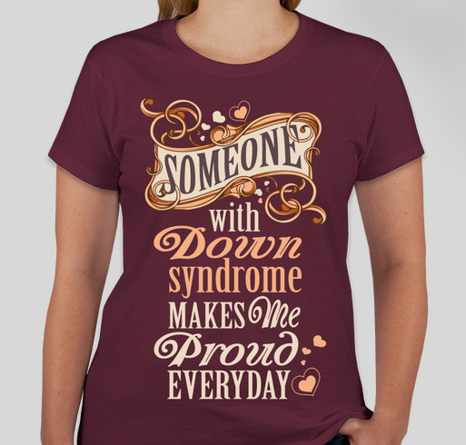 Limited Edition Tee - Down syndrome Fundraiser - unisex shirt design - front